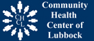 A logo with the words: The Community Health Center of Lubbock